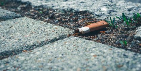 Snusen og sneipen – et stort forsøplingsproblem